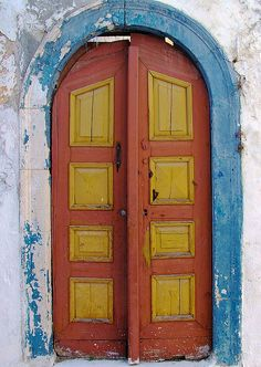 Old Greek Door