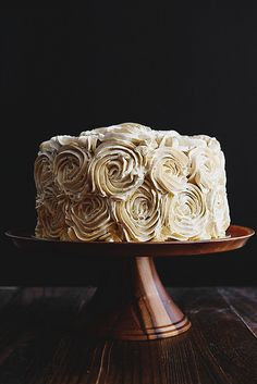Rose Pandan Gula Melaka Layer Cake and Cake Decorating Tips for enthusiastic home-bakers.