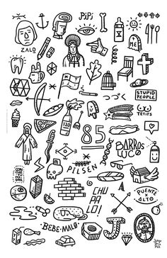 New Doodle Art Inspiration Tattoos Ideas Kritzelei Tattoo, Doodle Tattoo, Doodle Art, Tattoo Design Drawings, Small Tattoo Designs, Tattoo Sketches, Little Tattoos, Mini Tattoos, Body Art Tattoos