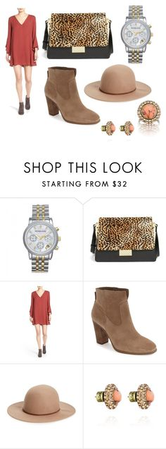 """Instagram outfit #3"" by cmcanitano on Polyvore featuring Michael Kors, Vince Camuto, Lush, Hinge and Chloe + Isabel"