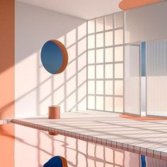 The adhering to are modern and minimal designs as well as office concepts, obtain imaginative ideas after you see some work space layouts like the complying with 3d Interior Design, Interior Exterior, 3d Design, Modern Interior, House Design, Colour Architecture, Interior Architecture, Art Deco, Wine Design