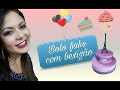 Bolo em EVA sem emenda com Denise Costa - YouTube Alice, Youtube, Simple, Birthday Cakes, Sweets, Birthday Party Ideas, Ideas Party, How To Make Cake, Coffee Filter Flowers