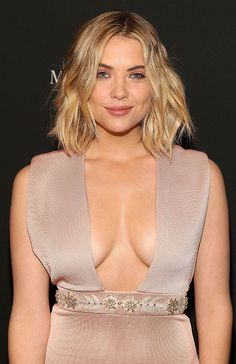 Ashley Benson is seen at Lincoln Center for the Performing Arts during Mercedes-Benz Fashion Week Fall 2015 on February 16, 2015 in New York City.