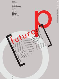 Type Specimens / http://payload.cargocollective.com/1/2/79587/1252047/FuturaPoster.png