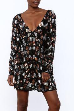 bed8c470fd09 Shoptiques Product  Short Sequined Dress