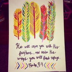 Psalm 914 Canvas by ZoesPaintCreations on Etsy