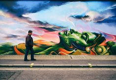London street photography and candid photography by photographer Nicholas Goodden. Urban photography and city life at its best. Candid Photography, Urban Photography, London Street Photography, The Ordinary, Soho, Graffiti, Street Art, Night, Painting