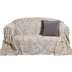 Living & Co Couch Cover Prato Hazel 1 - 2 Seater - Cushions & Throws - Living Room - Homewares - The Warehouse
