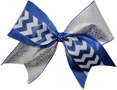 Learn to make a tick tock style cheer bow https://www.cheerbowsupply ...