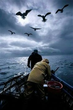 Fishing for Lobsters ~ Orkney, Scotland