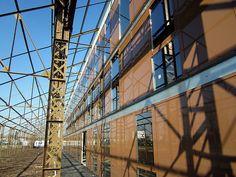 Ancienne structure des hangars Blériot S.Blot - 2013