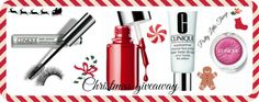 Christmas giveaway with Clinique!