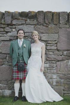 Vintage Scottish Wedding