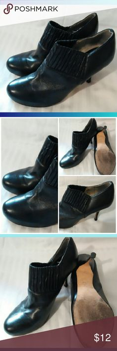 Spotted while shopping on Poshmark: MaxStudio Leather slip on Ankle boots sz.7.5! #poshmark #fashion #shopping #style #Max Studio #Shoes