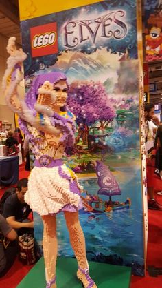#fanexpo Toronto, Lego, Fan, Painting, Painting Art, Paintings, Hand Fan, Painted Canvas, Legos
