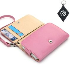 Samsung Galaxy Ace 2 I8160 Wallet - Pink Clutch Carrying Cover Case with Built-In Credit Card Slots and Detachable Handstrap + NuVur ™ Keychain (ESAMWLP1) Kroo,http://www.amazon.com/dp/B00AQ9VV9E/ref=cm_sw_r_pi_dp_rikRsb114JGEXE8N