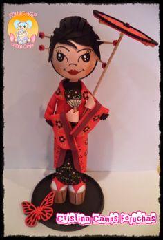 Cristina Camps Fofuchas: Fofucha Geisha 2