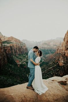 Incredible views at this wedding in Zion National Park | India Earl Photography