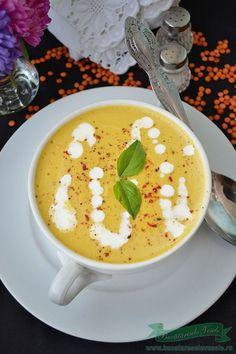 Supa Crema de Linte Rosie Baby Food Recipes, Healthy Dinner Recipes, Vegan Recipes, Cooking Recipes, Healthy Food, Vegan Challenge, Good Food, Yummy Food, Romanian Food
