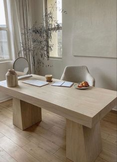 Dream Home Design, Home Office Design, Home Interior Design, Diy Modern Interior, Interior Decorating, Design Desk, Home Design Decor, Oak Desk, Cute Home Decor