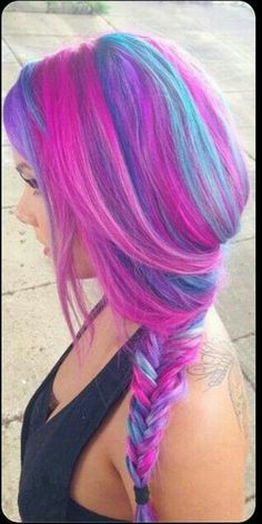 We're needing more lovely ladies taking the plunge and going crazy colours!