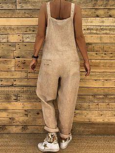 610fb729fa2 High-waist Loose Bandage Jumpsuits