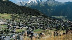 """Verbier, Valais.  Verbier lies ten kilometers to the east of Martigny and is part of the skiing region """"4 Vallées""""."""