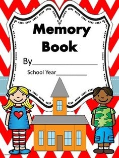 Create this Memory Book to record special memories throughout the year. This book is perfect for early primary grades. Your students will love sharing this special book with family and friends.