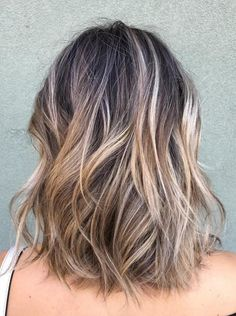 Best Hair Color Ideas 2017 / 2018 ash brunette balayage highlights