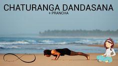 Yoga para iniciantes #4 -  CHATURANGA DANDASANA + PRANCHA