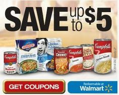 $5 Off Campbell's Soups - Printable Coupons