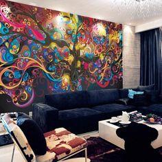 Die 21 Besten Bilder Von 3d Tapeten Wall Papers Murals Und