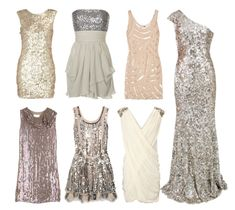 So GLAM! :) wish I had a place to wear the dress on the far right! (forthoseabouttoshop)