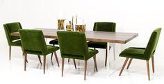 Slab Dining Table in Solid Walnut | ModShop