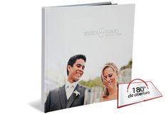 Photobook MAX Premium com abertura 180º