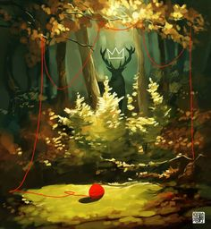 The Forest King by *takeru-san on deviantART