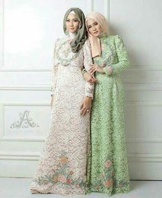 Bridesmaid Dresses, Wedding Dresses, Lace Dresses, Kebaya Brokat, Hijab Tutorial, Hijab Fashion, Muslim, Womens Fashion, Inspiration