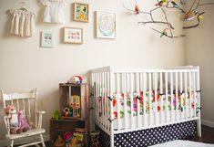 Une chambre bébé nature