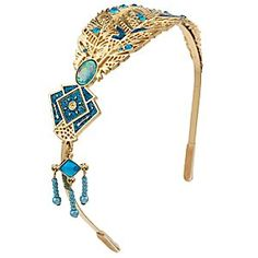 Pocahontas Tiara for Kids | Disney Store The colors of the wind turn a glistening gold on this Pocahontas Tiara for Kids. Fashioned in gold metal, the delicate feather design is encrusted with dazzling jewels, making it the crowning glory of their Pocahontas costume.