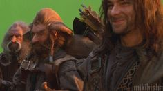 """(GIF) That face that only Kili can master: """"Something funny is going to happen in 3... 2..."""""""