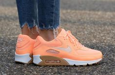 huge discount 28536 a0ae6 The Nike Air Max 90 Sunset Glow Was Made For The Ladies Zapatos, Sandalias,