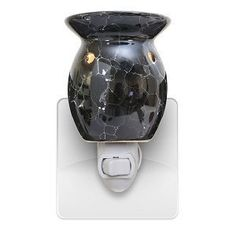 Black Marble Plug In Tart Warmer