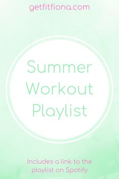 Summer Workout Playlist - Get Fit Fiona Gym Workouts, At Home Workouts, Studio Workouts, Workout For Beginners, Beginner Workouts, Fun Songs, Twist And Shout, Classic Songs, Productive Day
