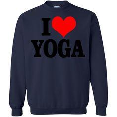 Yoga Shirts I love Yoga T-shirts Hoodies Sweatshirts
