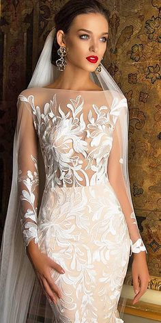 Milla Nova Bridal 2017 Wedding Dresses / www.deerpearlflow… Milla Nova Bridal 2017 Wedding Dresses / www. Bridal Wedding Dresses, Dream Wedding Dresses, Wedding Attire, Wedding Bride, 2017 Wedding, Wedding Ceremony, Wedding Dressses, Mila Nova Wedding Dress, 2017 Bridal