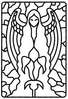 Kleurplaat sterrenbeeld maagd