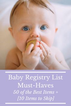 Doing your first Baby Registry List can be overwhelming to say the least. We break down what we wish we knew before making a baby registry list. #babyregistry #babylist #registrylist #newbaby