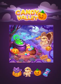 Halloween Bonus Location in Candy Valley (c) Tap Clap