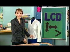 Length Comfort Depth (darts) - Peggy Sagers discusses fitting problems and how to fix them on It's Sew Easy - YouTube