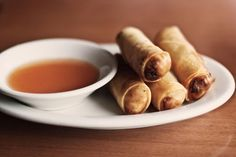 How to Make Cantonese Spring Rolls with Pork and Shrimp